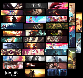 July tags by izzys