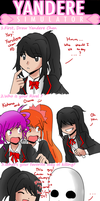 Yandere Simulator Meme by TrainerAshandRed35