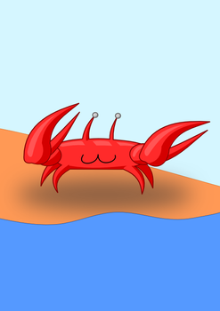Pablo, the Dead Crab by sutechshiroi