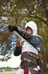 Altair Cosplay - Dagger On Guard by 6Silver9