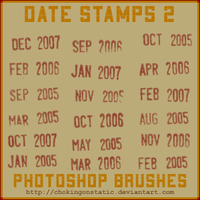 date stamp brushes 2 by chokingonstatic