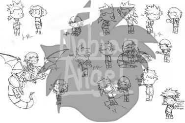 Some Zoids Humans by Sophie-The-Skunk