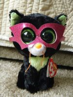 Ty Beanie Boo Cat- Jinxy by ShadoweonCollections
