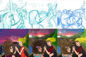 From concept to finished piece by ADRIAN9
