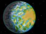 An eyeball earth by SpinoInWonderland