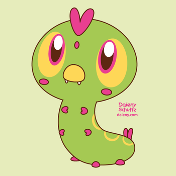 Chibi Caterpillar by Daieny
