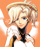 Mercy by Drawloverlala