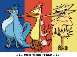 Pick your team! by Aniforce