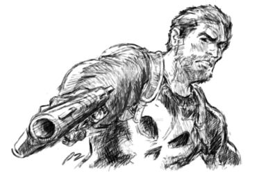 Frank Castle. The Punisher. by adventuresofp2