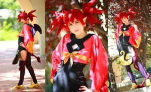 Etna crossedge cosplay by Shiya