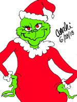 Grinch  by artbelife