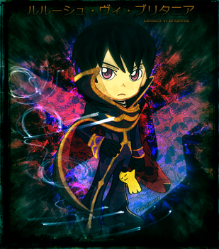Lelouch Lamperouge: Conquer by Kim-Mariet