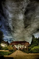 a house in the green by Ditze