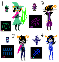deltarune troll adopts CLOSED by MountAndDewMe