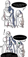 Sans' Relatable Advice by The-NoiseMaker