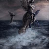 If angels could fly by Notvitruvian