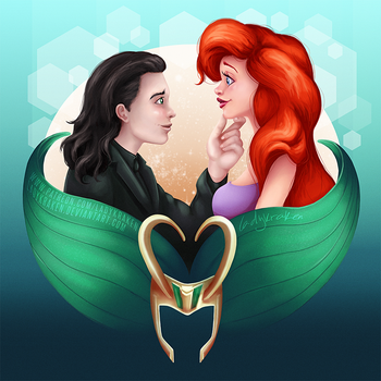 Loki/Ariel - We do what we want by LadyKraken