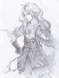 Tidus Dissidia by holybell07