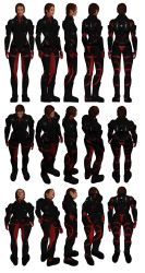 Mass Effect, Colossus Armour Heavy, Female Ref. by Troodon80