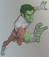 Beast Boy by MattPichette