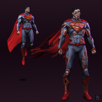 Injustice: Gods Among Us - Superman (new 52) by Sticklove