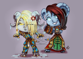 CM - Deathope and Akatria by LadyRosse