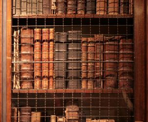 Plantin: Caged Books 01 by barefootliam-stock