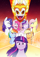 Defenders Of Canterlot by 0ndshok