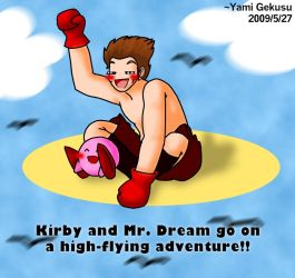 Kirby and Mr. Dream's Venture by darkgex