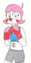 Charisma the Boxing Clown by RacketFewl