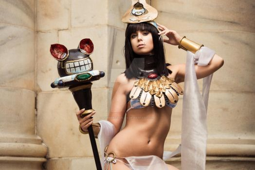 menace - Queens Blade 3 by ZOMBIEBITME