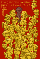One Year! New Year! by SouthParkTaoist