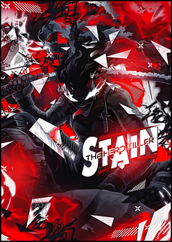 [Lp] Stain - the Hero Killer by KurokoGraph
