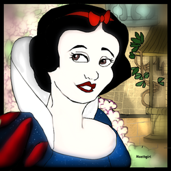 snow white by monthgirl