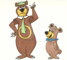 Yogi Ursaring and Boo-Boo-ursa