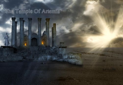 The Temple Of Artemis by rydena