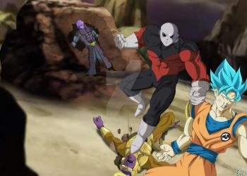 Jiren tournament of power by ultimateEman