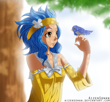 Fairy Tail - Levy by AizenSowan