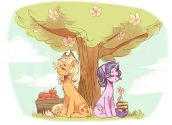 Under The Tree Of That Day by DannyMoMochi