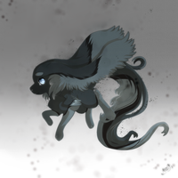 Astroflare - Charcoal Acedia Sloth  by PkingSora