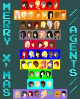 +MERRY XMAS TO AGENTS+ by MangaMel
