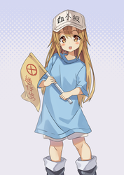 Platelets chan by Chaoskun02