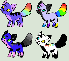 Marco x  Crayola litter by Cuddly-Adopts