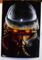 killzone 2 ps3 faceplate by magaggie