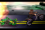 Nightriders Revenge of the Sewer Rats Part 15 by AxlReigns