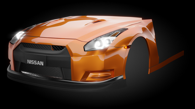 Nissan Skyline R35 GTR (Work In-Progress!) by Mistberg