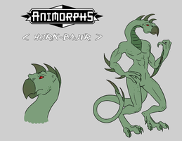 animorphs: hork-bajir by LizCoshizzle