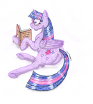 Commission: Twilight Studies Anatomy by 0PinkPepper0