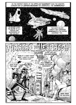 Space Pirates page 01 by borba