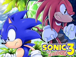Sonic 3 and Knuckles by icha-icha
